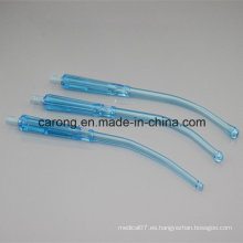 Manijas Yankauer con tubos de conexión de succión / manija Yankauer