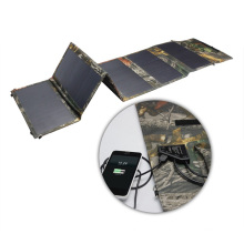 36W Manufacturer Best Selling Flexible Fabric Solar Camping Charger