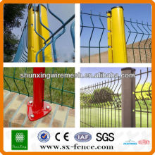 2014 PVC welded wire mesh fence panel