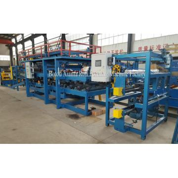 EPS Sandwich Panel Dinding Roll Forming Machine Line