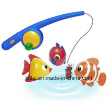 Funtime juguetes de pesca de plástico para niños