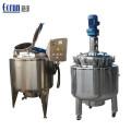 Tanque de mistura de aço inoxidável da preparação líquida farmacêutica qualificada Gmp