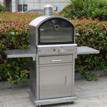 Outdoor 304 Edelstahl Gas Pizza Ofen mit Ce CSA
