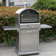 Forno de pizza de gás 304 em aço inoxidável com ce CSA