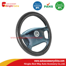 Lace Grain Leather Steering Wheel Cover
