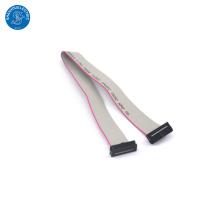 Cable plano de la cinta de las maneras 20 de la echada de UL2651 1.27mm con el conector de IDC