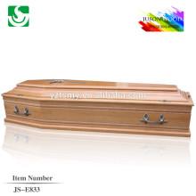 caixão de poplar de boa qualidade para venda