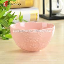 Cuenco de cerámica tazón de arroz de cerámica