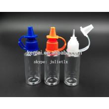 FDA CERTIFCATE PET e-Flüssigkeit Flasche ISO8317