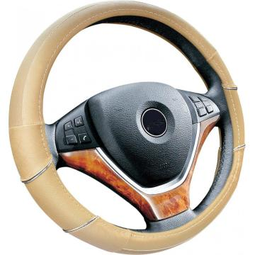 Matte durable customized PU steering wheel cover