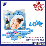 Educational Silicone Letter Baby Puzzle Toy Funny Baby Toys for Sale