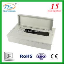 caja de distribución de energía eléctrica portátil de 12 vías