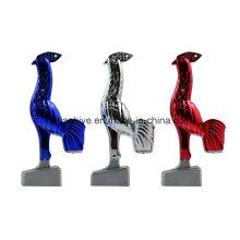 Pluma del escritorio del diseño del gallo, bolígrafo de Chick Ball de la novedad (LT-C701)