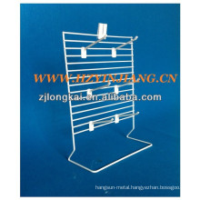 New products countertoo metal hanging fashionable boutique display stand for jewelry
