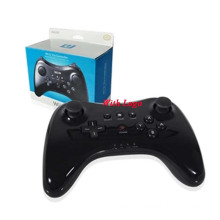 Dual Analog Bluetooth Wireless Game Remote Controller U System Pro Gamepad for Nintendo Wii U Black