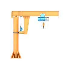 2ton Workshop Warehouse Stationary Electric Hoist Jib Crane
