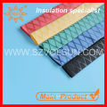 Polyolefin RoHS 50mm Red & Yellow Textured Heat Shrink Sleeve