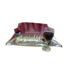Saco em caixa de vinho / saco de vinho branco em caixa / saco de vinho vermelho em caixa / saco líquido em caixa