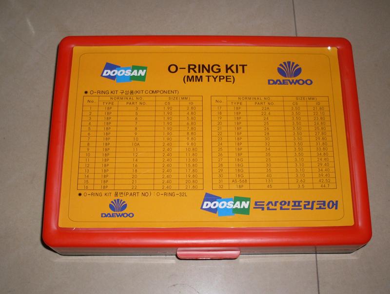 Doosan Daewoo O Ring Kit Component O Ring 32l