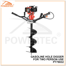 Powertec 2400W 300mm Two Persons Use Gasoline Hole Digger
