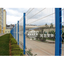 PVC Coated Welded Mesh Panel Fence