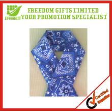 Bandanas imprimés par logo adapté aux besoins du client de coton pour la tête