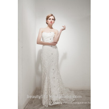 Mermaid Sweetheart Court Train Elegant Lace Wedding Dress AS30402