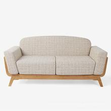Wooden Furniture Soft Fabric Sofa