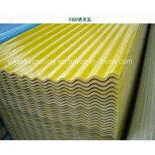 Bardeau de toiture de tuile de toit de FRP pour la serre chaude