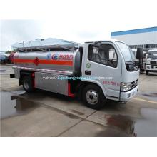 Dimensões do caminhão de combustível para transporte de diesel / óleo / gasolina