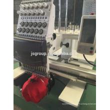 JINSHENG Máquina de bordar de cabeça única cabeça
