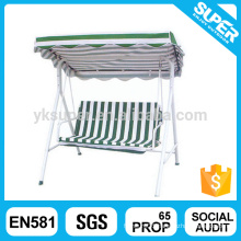 Promotional outdoor balcony garden iron swing chair hing swing chair