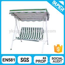 Balcão exterior promocional jardim cadeira de balanço de ferro cadeira de balanço de hing