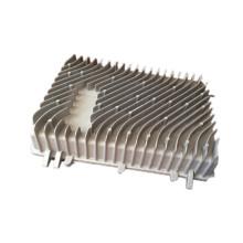 Évier en aluminium adapté aux besoins du client de radiateur de moulage mécanique sous pression (DR309)