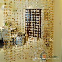 Natural conchas de cuentas cortinas para la venta barata