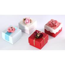 O casamento customizável da caixa dos doces favorece caixas de papel de Flowders
