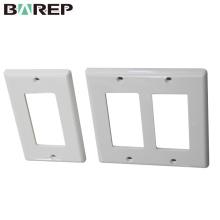 UL943 Placas de cobertura de interruptor de luz de plástico padrão BAREP GFCI