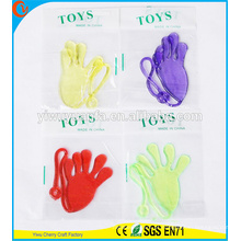 Novidade Design Interesing Trick Funny Kids Gift Colorful Sticky Hand Toy