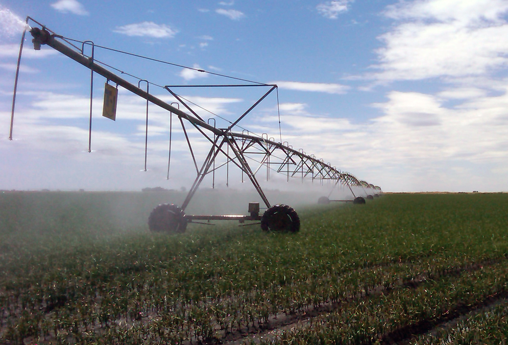 Center Pivot Irrigation for World Agriculture