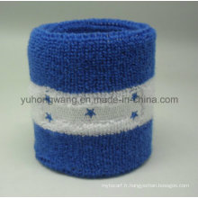 Promotion Cotton Terry Sports Wristband / Headband