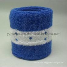 Promoción Algodón Terry Sports Wristband / Headband