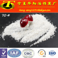 White quartz powder silica price per ton