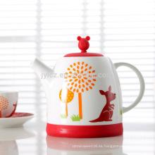 Conjunto de regalo de pote de té de fábrica de alta calidad