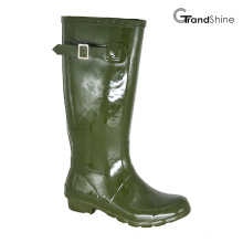 Wellie Gloss Rainboot com pulseira decorativa