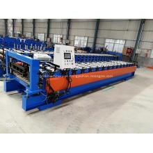 Máquina para fabricar painéis de telhado para contêineres IBR former