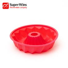 Non-Stick Pound Mold Silicone Bundt Pan Tube Pan