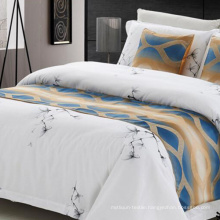 100% Polyester Decorative Bed Runner Bed Scarf Bed Throw (DPF1070)