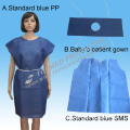 Patient Gown (Round-Neck)