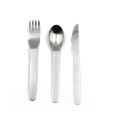 Travel Flatware Set for 3-pieces Cutlery set