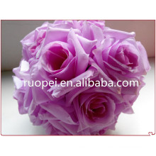 2014 China manual puro casamento decoração bola flor artificial